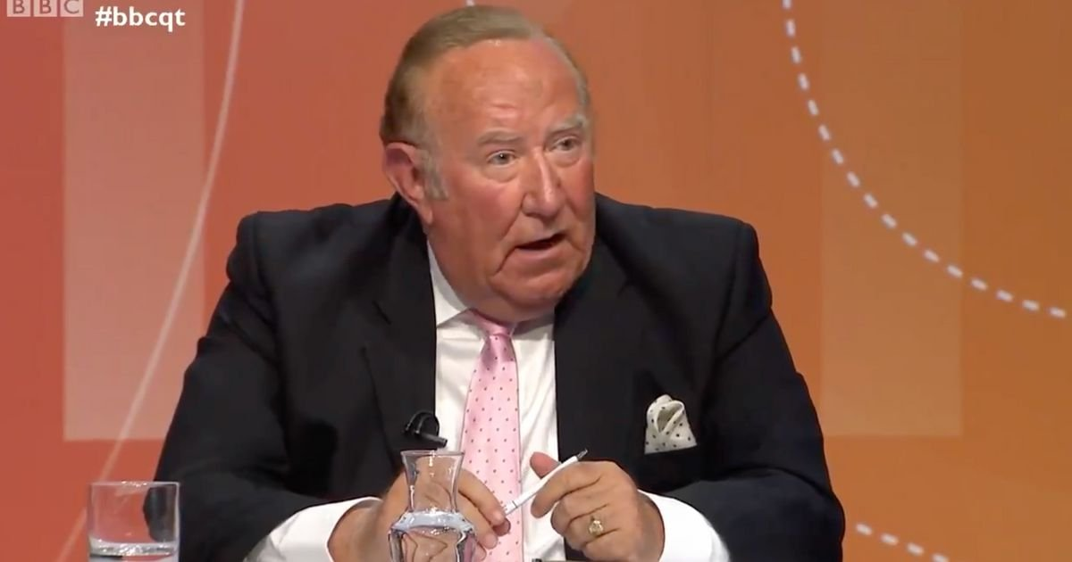 Andrew Neil Hints At Why He Quit GB News When Probed On Question Time