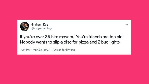 16 Funny And Relatable Tweets About The Struggle Of Moving