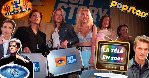 """À quoi ressemblait la télé en 2001 au lancement de """"Loft Story"""""""