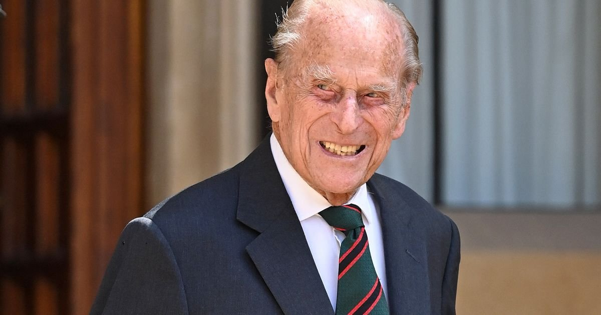 Prince Philip Has Died Aged 99 - cover