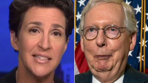 Rachel Maddow Spots The Mitch McConnell Move Democrats Should Copy