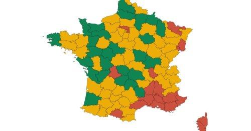 La carte des départements les mieux placés pour une possible levée du pass sanitaire