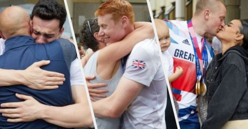 Coffee And A Curry: Team GB Swimmers Return Home To An Emotional Reunion (And Home Comforts)