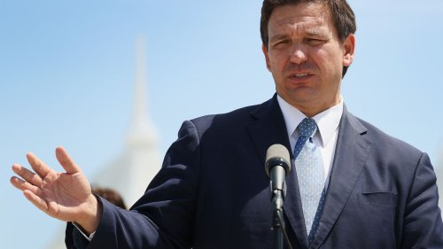 DeSantis Vaccine Slogan Is 'Seniors First' — But 'Rich, White Seniors First' Is What Happened