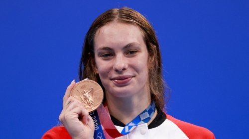 Olympic Swimming Star Sends Scathing Message To Her 'WOAT' High School Teacher