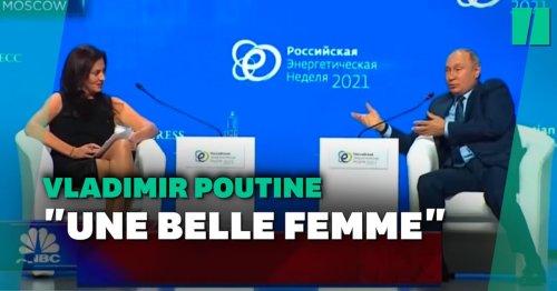 """Trop """"belle"""" pour comprendre: la remarque sexiste de Poutine à une journaliste"""