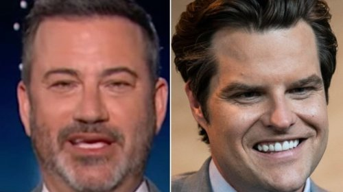 Jimmy Kimmel Gives Matt Gaetz The Odds Of Prison In Terms Even He Can Understand