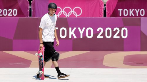 Tony Hawk Barged The Tokyo Olympics Skateboard Park And Showed How It's Done
