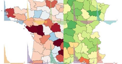 L'épidémie de Covid reprend doucement, nos cartes pour suivre l'évolution en temps réel