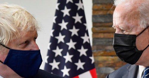 PM Downplays Brexit Tensions With 'Breath Of Fresh Air' Joe Biden