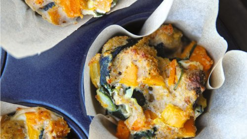 Make These Eggy Bread And Veggie Muffins In Just 5 Steps
