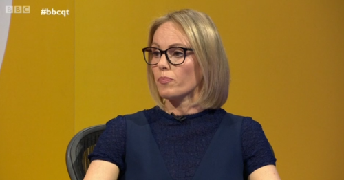Michelle Dewberry in feisty Question Time Brexit clash with Labour MP