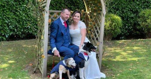 Couple rearrange dream wedding in four days after venue cancels
