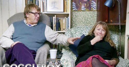 Gogglebox fans shocked at Giles and Mary's reaction to death of Prince Philip