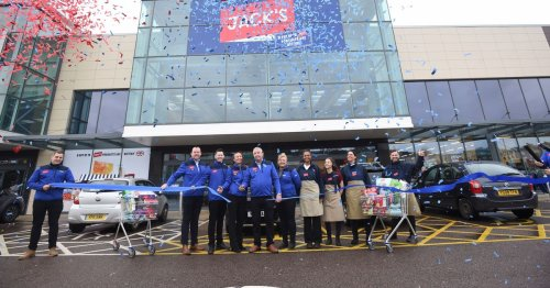 New Jack's Supermarket middle aisle to stock hot tubs and TVs