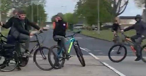 Brazen Bransholme teens panic drivers in 'stupid' rush hour stunt