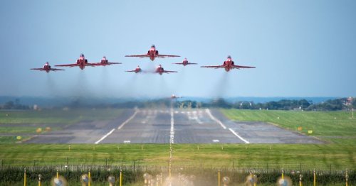 Red Arrows flying this weekend - how, when and where to see them