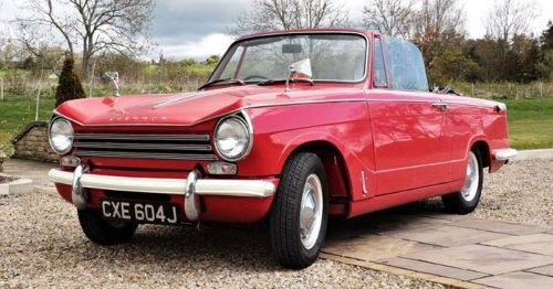 Car from Last of the Summer Wine expected to fetch £15k at auction
