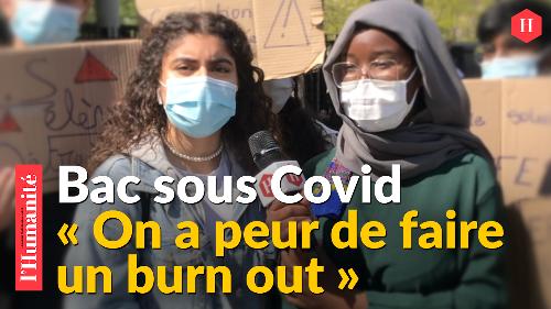 VIDÉO Bac 2021 - À Aubervilliers, Jasmine et Kadidia se battent pour leur avenir