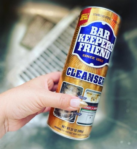 11 Satisfying Bar Keepers Friend Before-and-After Cleaning Hacks | Hunker