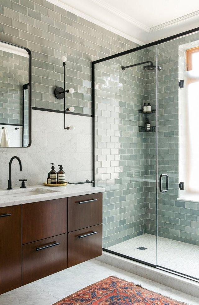 7 Lush Green Bathroom Ideas That Inspire Relaxation   Hunker