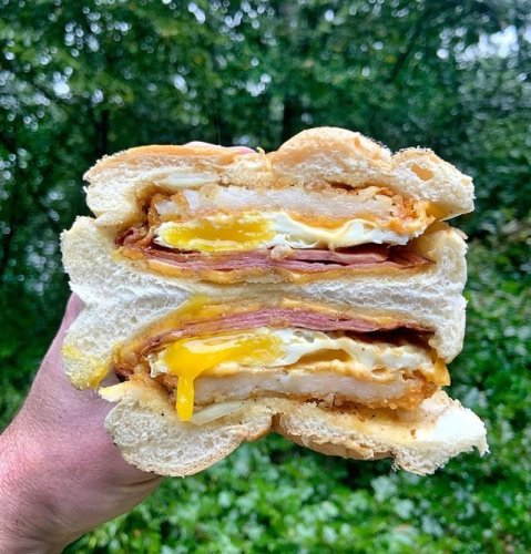 This Egg Hack Makes a Breakfast Sandwich in Less Than 10 Minutes | Hunker