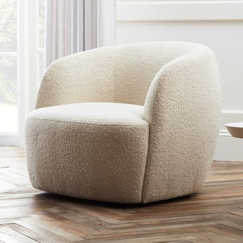 The 10 Best Dupes for CB2's Viral Boucle Chair | Hunker