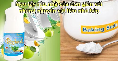 Mẹo tẩy rửa nhà cửa đơn giản với những nguyên vật liệu nhà bếp - Hút Hầm Cầu Phú Lộc