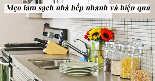 Mẹo làm sạch nhà bếp nhanh và hiệu quả ít người biết - Hút Hầm Cầu Phú Lộc