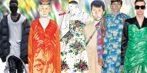 Designers Reflect on Men in Dresses