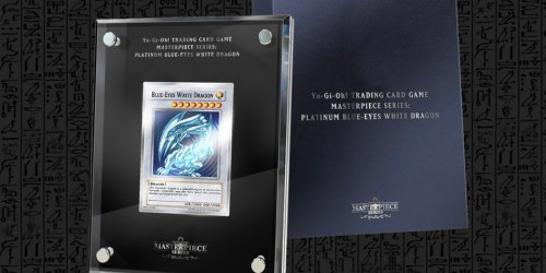 'Yu-Gi-Oh! TCG' 99.9%-Silver Masterpiece Blue-Eyes White Dragon Sells Out in Seconds