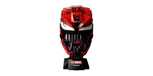 Marvel and LEGO Unveil Detailed Carnage Mask