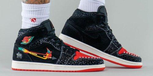 "On-Foot Look at the Air Jordan 1 Mid ""SiEMPRE Familia"""