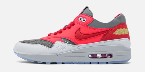 """Take an Official Look at the CLOT x Nike Air Max 1 """"K.O.D. Solar Red"""""""