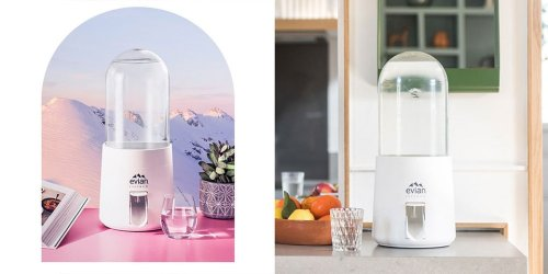 Virgil Abloh Designs re(new) Water Dispenser for evian
