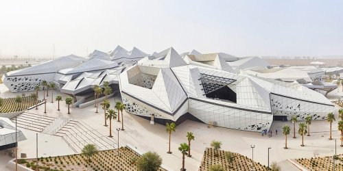 Zaha Hadid Architects Patterns a Honeycomb-Structured Research Campus