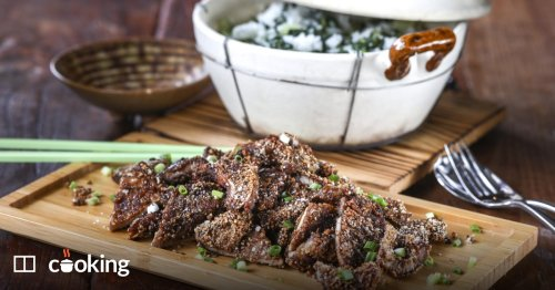 Shanghainese pork chops with vegetable rice recipe - a one-bowl meal