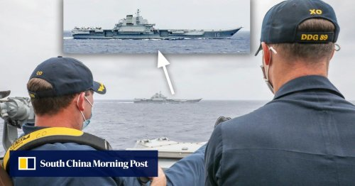 US navy sends China the message: 'we're watching you'