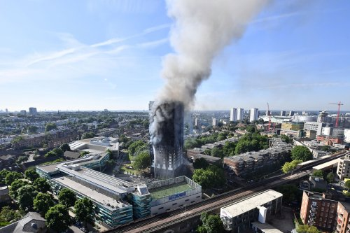 London Grenfell Tower Fire cover image