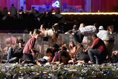 Donald Trump tweets reaction to Las Vegas mass shooting