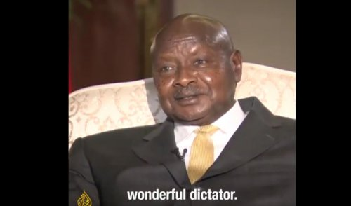 President Yoweri Museveni says he must be a wonderful dictator – elected five times