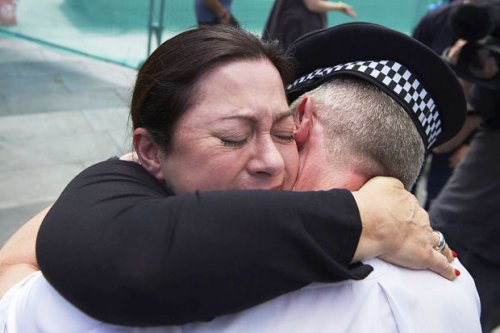 7/7 London bombings: Emotional reunion for survivor and policeman who saved her