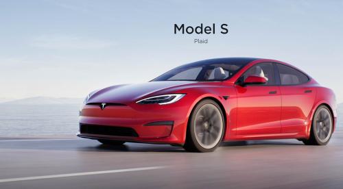Илон Маск представил самый быстрый серийный автомобиль в истории — Tesla Model S Plaid