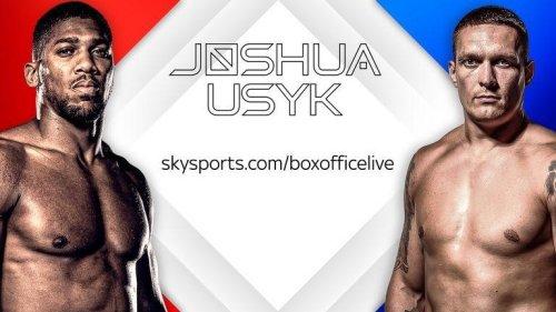 How to watch Anthony Joshua vs Oleksandr Usyk Live Stream Free in Australia and United Kingdom – Business