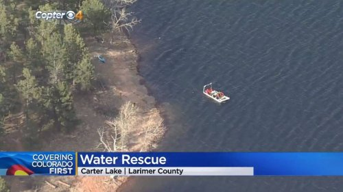Search for kayaker's body suspended after dog was found in Colorado lake, cops say