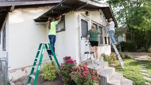 Volunteer to paint the homes of elderly and disabled residents at Brush-Up Nampa
