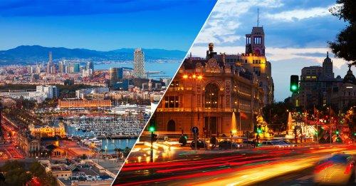 Barcelona y Madrid, entras las que más suben en el ranking 2021 de mejores ciudades para vivir