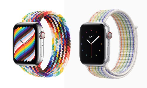 Apple Unveils 2021 Pride Edition Apple Watch Bands (with Some Extra Twists)
