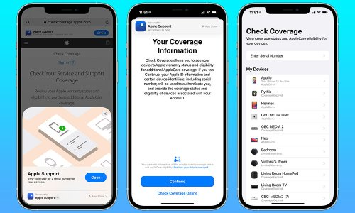 You Can Now Check Your AppleCare+ Coverage with an App Clip (Here's How)