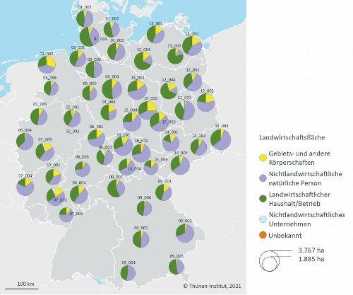 Neue Methode entwickelt: Wem in Deutschland Äcker und Grünland gehören